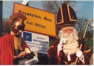 Sinterklaas en Sint-Maarten