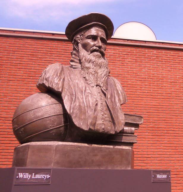Mercatorbeeld - Willy Laureys (2012)