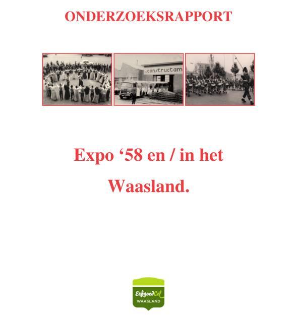 Onderzoeksrapport expo '58 en/in het Waasland