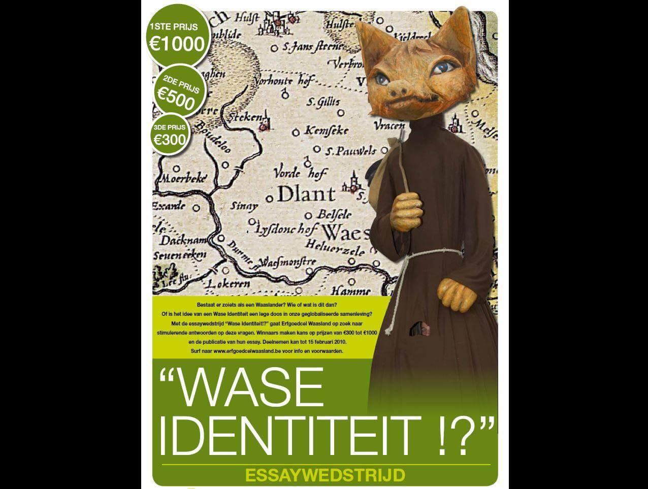 Essaywedstrijd 'Wase Identiteit?!'